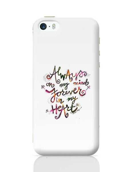 Always & Forever iPhone 5/5S Covers Cases Online India