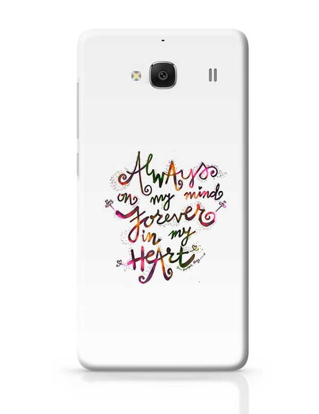 Always & Forever Redmi 2 / Redmi 2 Prime Covers Cases Online India