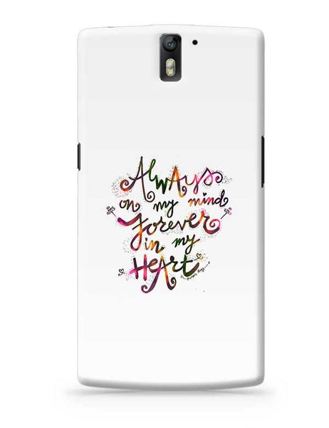 Always & Forever OnePlus One Covers Cases Online India