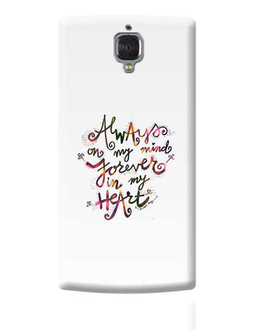 Always & Forever OnePlus 3 Covers Cases Online India