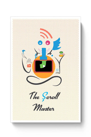 Buy Ganesh the Scroll master  Poster