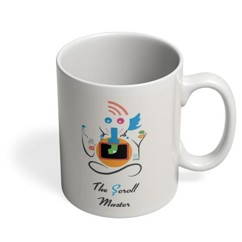 Ganesh the Scroll master  Coffee Mug Online India