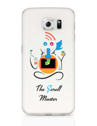 Ganesh the Scroll master  Samsung Galaxy S6 Covers Cases Online India