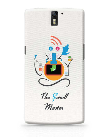 Ganesh the Scroll master  OnePlus One Covers Cases Online India