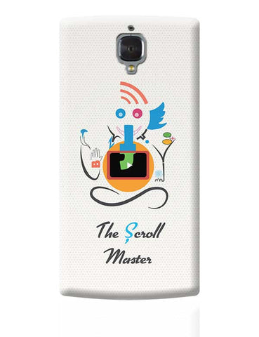 Ganesh the Scroll master  OnePlus 3 Covers Cases Online India