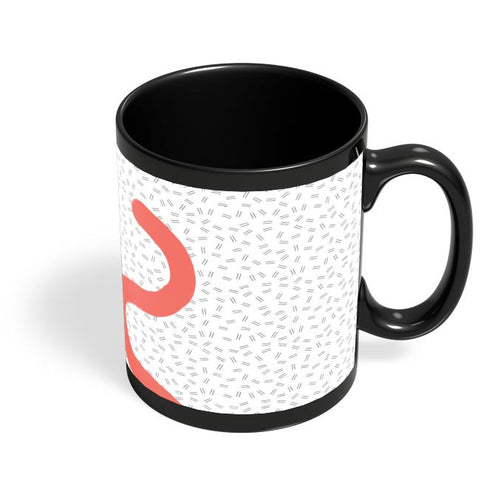 Pattern Play Part 3 Black Coffee Mug Online India