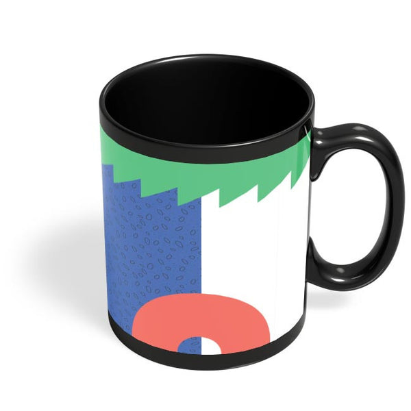 Pattern Play Part 4 Black Coffee Mug Online India