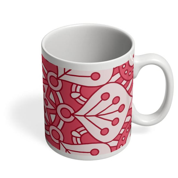 Floral Design Coffee Mug Online India