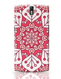 Floral Design Oneplus One Covers Cases