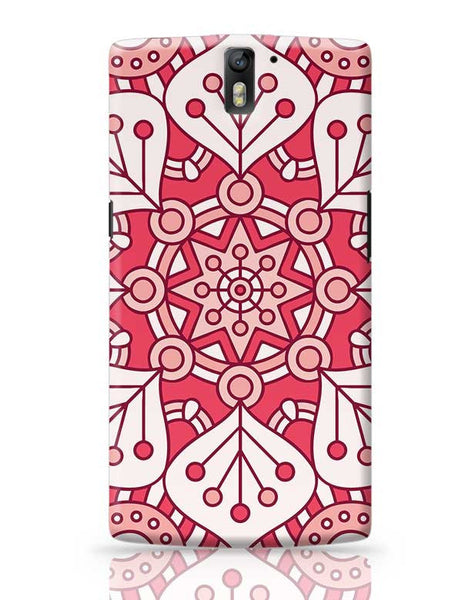 Floral Design OnePlus One Covers Cases Online India