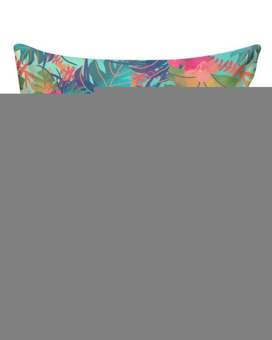 Tropical Leaves Pattern Cushion Cover Online India