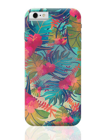 Tropical Leaves Pattern iPhone 6 / 6S Covers Cases