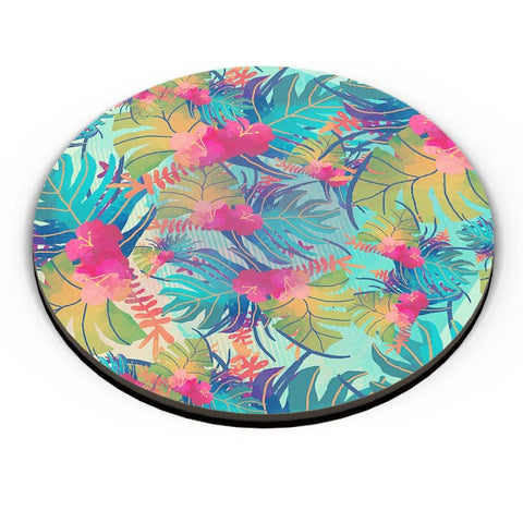 Tropical Leaves Pattern Fridge Magnet Online India