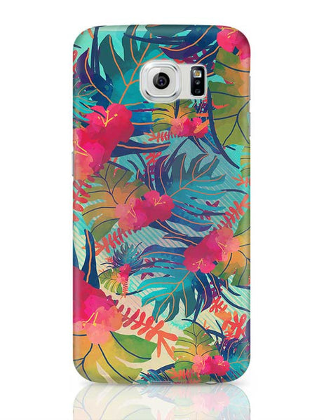 Tropical Leaves Pattern Samsung Galaxy S6 Covers Cases Online India