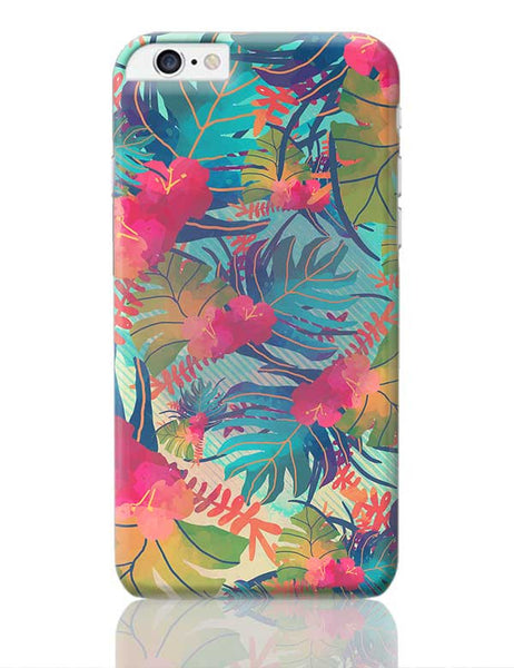 Tropical Leaves Pattern iPhone 6 Plus / 6S Plus Covers Cases Online India