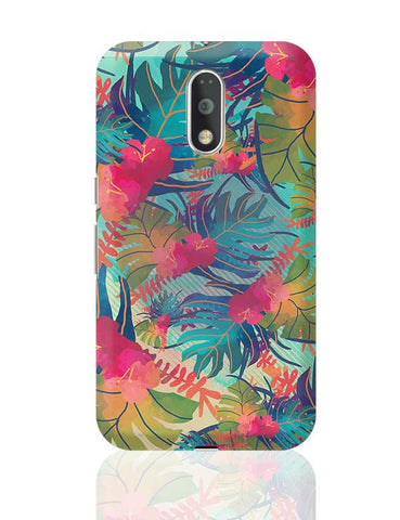 Tropical Leaves Pattern Moto G4 Plus Online India