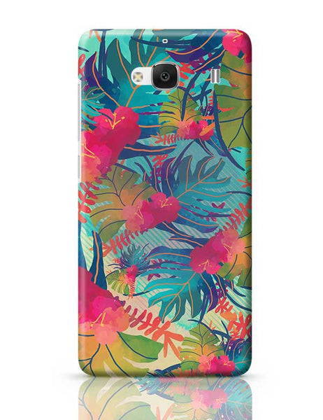 Tropical Leaves Pattern Redmi 2 / Redmi 2 Prime Covers Cases Online India