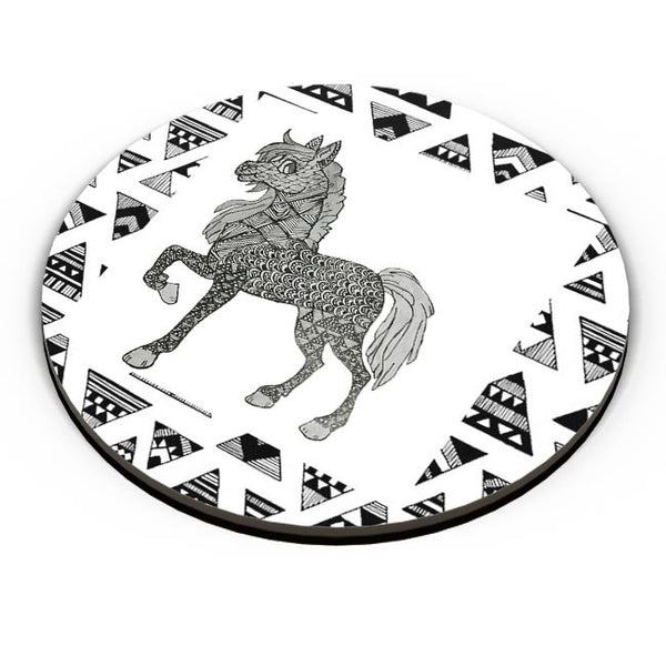 Horse_ZentangleArt Fridge Magnet Online India