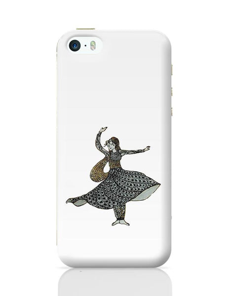 Kathak Dancer_ Zentangle Art iPhone 5/5S Covers Cases Online India
