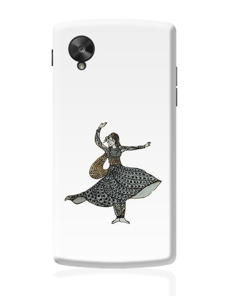 Kathak Dancer_ Zentangle Art Google Nexus 5 Covers Cases Online India