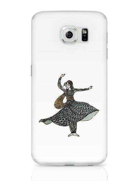 Kathak Dancer_ Zentangle Art Samsung Galaxy S6 Covers Cases Online India