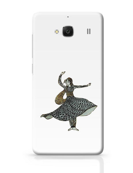 Kathak Dancer_ Zentangle Art Redmi 2 / Redmi 2 Prime Covers Cases Online India