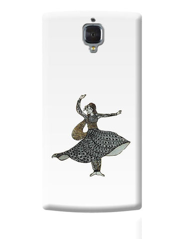 Kathak Dancer_ Zentangle Art OnePlus 3 Covers Cases Online India