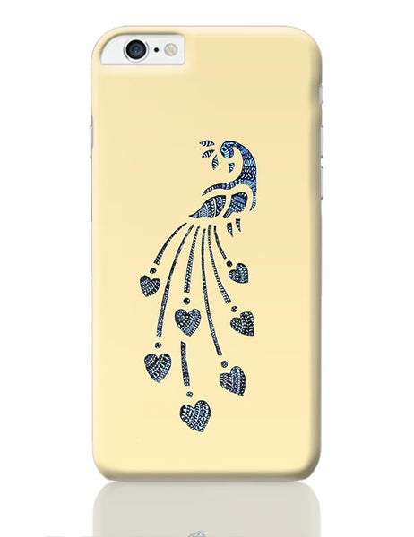 Peacock_Zentangle_Sandal iPhone 6 Plus / 6S Plus Covers Cases Online India