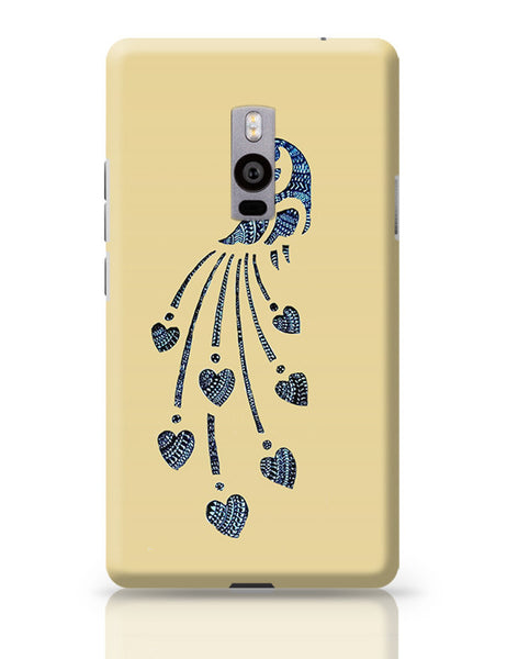 Peacock_Zentangle_Sandal OnePlus Two Covers Cases Online India