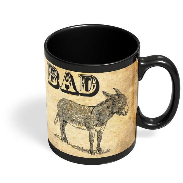 Bad Ass! Black Coffee Mug Online India
