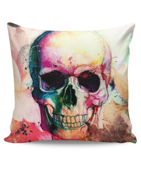 Floral Skull Cushion Cover Online India