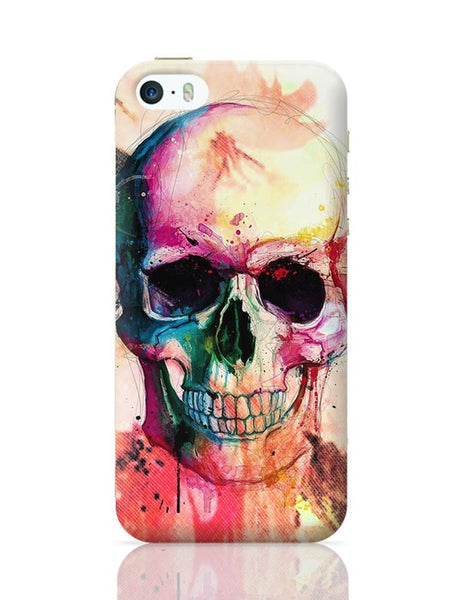 Floral Skull iPhone 5/5S Covers Cases Online India