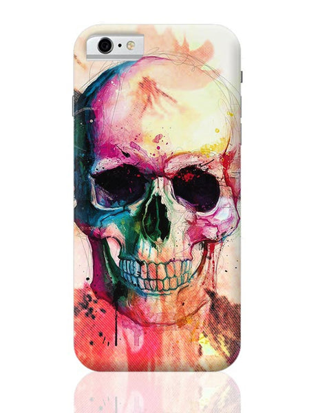 Floral Skull iPhone 6 6S Covers Cases Online India