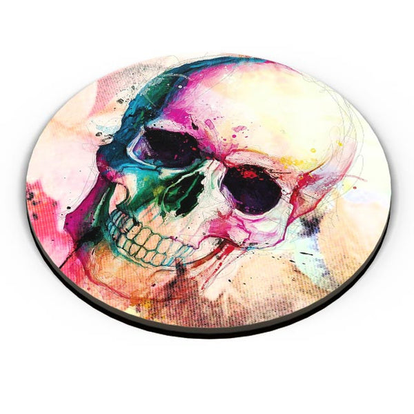 Floral Skull Fridge Magnet Online India