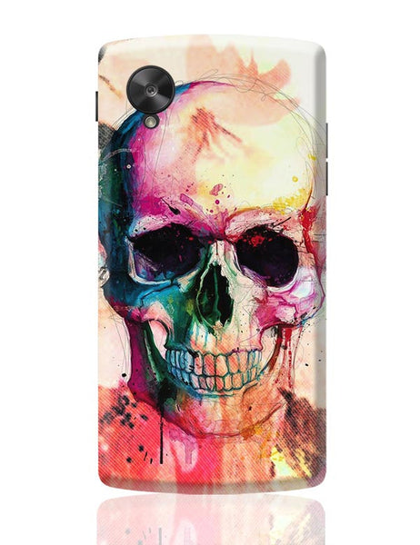 Floral Skull Google Nexus 5 Covers Cases Online India