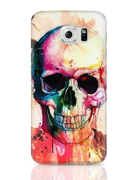 Floral Skull Samsung Galaxy S6 Covers Cases Online India