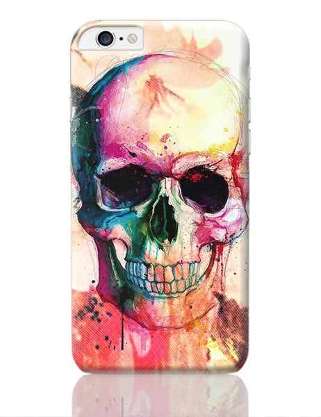 Floral Skull iPhone 6 Plus / 6S Plus Covers Cases Online India