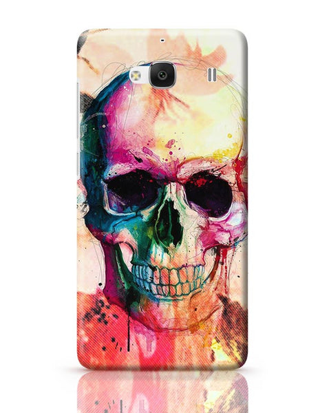 Floral Skull Redmi 2 / Redmi 2 Prime Covers Cases Online India