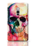 Floral Skull OnePlus Two Covers Cases Online India