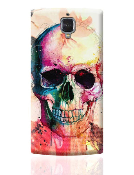 Floral Skull OnePlus 3 Covers Cases Online India