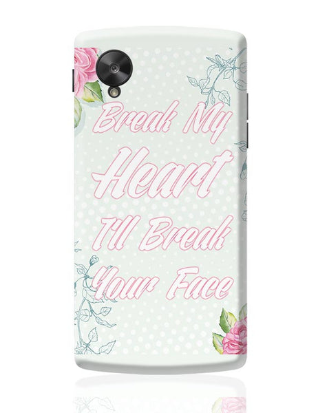 Heartbreak 101 Google Nexus 5 Covers Cases Online India