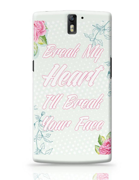 Heartbreak 101 OnePlus One Covers Cases Online India