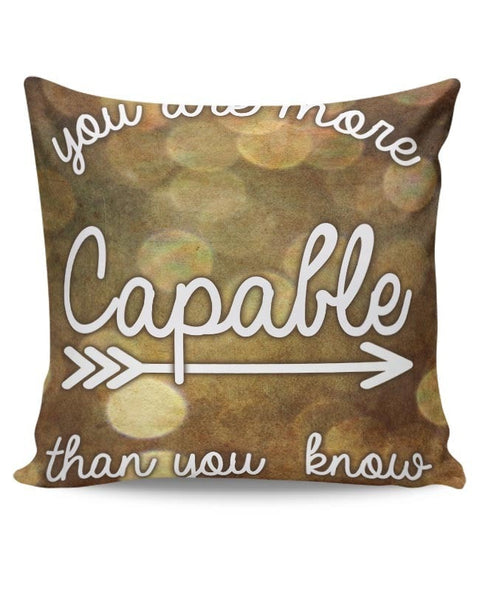 Capable Cushion Cover Online India