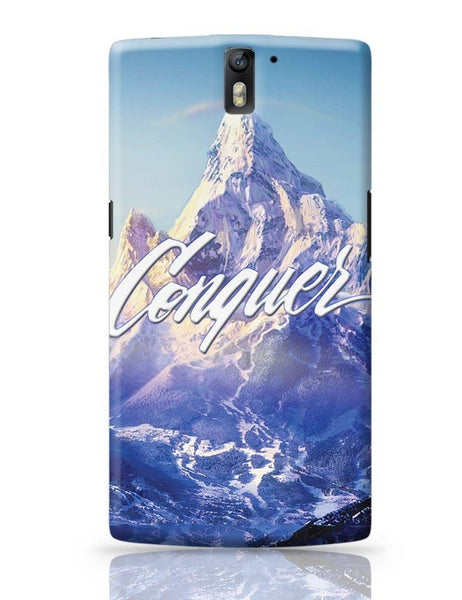 Conquer OnePlus One Covers Cases Online India