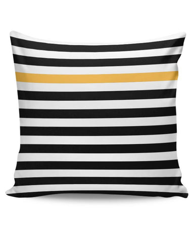Happy Stripes Cushion Cover Online India