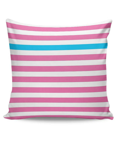 Happy Stripes 2 Cushion Cover Online India