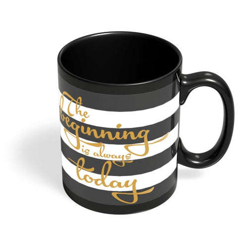 Typography love Black Coffee Mug Online India