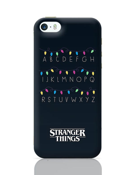Stranger Things - Lights - Minimal iPhone 5/5S Covers Cases Online India