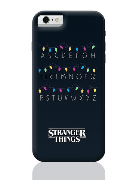 Stranger Things - Lights - Minimal iPhone 6 6S Covers Cases Online India