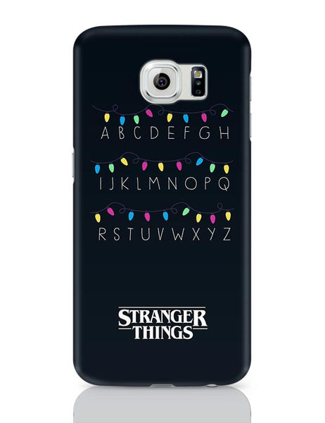 Stranger Things - Lights - Minimal Samsung Galaxy S6 Covers Cases Online India